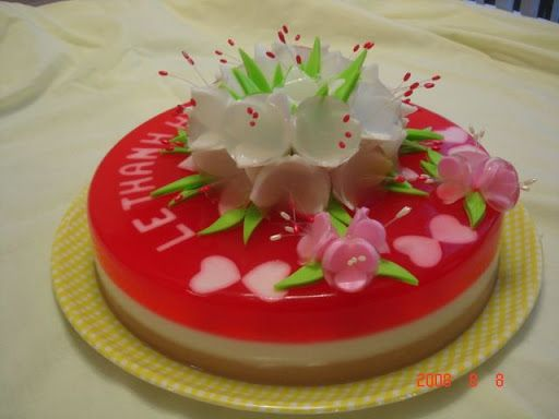 Chinese Jelly Cake Recipe: 65 Best Images About 3D Floral Gelatine On Pinterest
