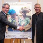 Prof. Yunus, vencedor do prêmio Nobel da Paz, elogia a Ajinomoto por seu empreendedorismo social sustentável