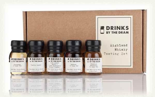 Highland Whisky Tasting Set