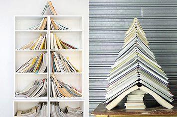 38 Fabulous DIY Christmas Trees That Aren