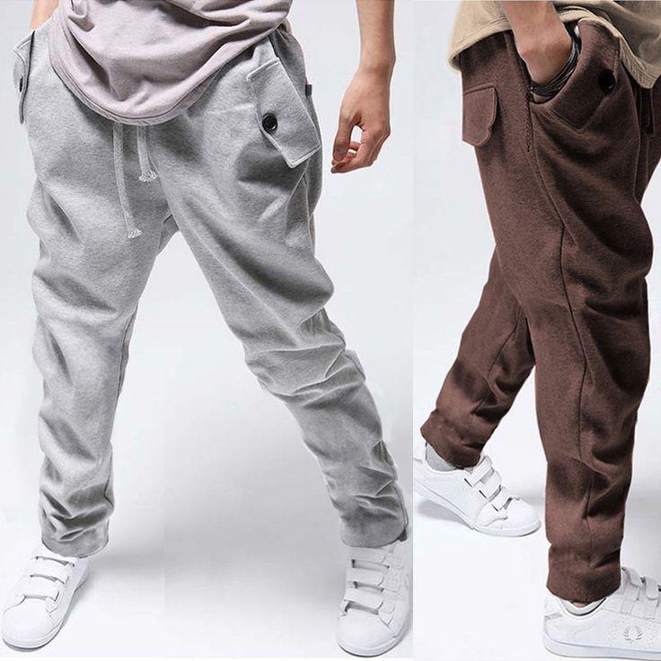 2013-New-fashion-Casual-Hip-Hop-Dance-Sporty-Harem-Sport-Sweat-Pants-Trousers-Mens-Skinny-Sweatpants.jpg (800×800)