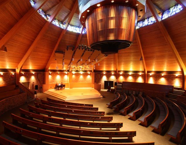 Agnes Flanagan Chapel At Lewis Clark College Portland Oregon