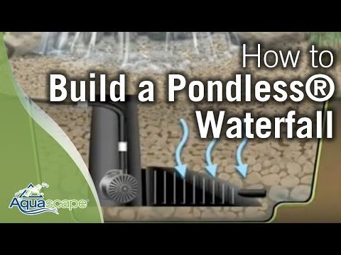 How To Build A Pondless® Waterfall - Aquascape - YouTube