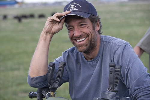 Mike Rowe from Dirty Jobs!