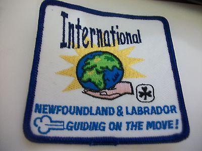 Newfoundland & Labrador International Crest
