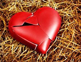 összetört szív