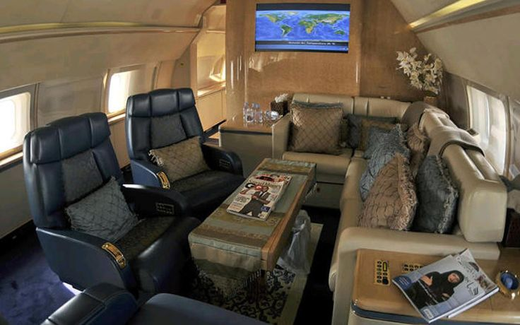 The Boeing Business Jet (BBJ) has about 250 more cabin