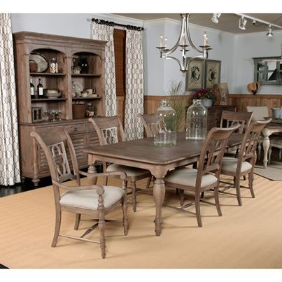 Weatherford   Heather, Weatherford Weathersford Canterbury Rectangular Leg Dining  Table, Dining Room Table Sets, Bedroom Furniture, Curio Cabinets And Solid  ... Amazing Pictures