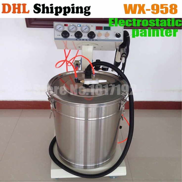 (597.55$)  Buy here - http://ai3gp.worlditems.win/all/product.php?id=32728035866 - Ship DHL Electrostatic Powder Coating machine WX-958 Electrostatic Spray Powder Coating Machine Spraying Gun Paint AC 110v 220v