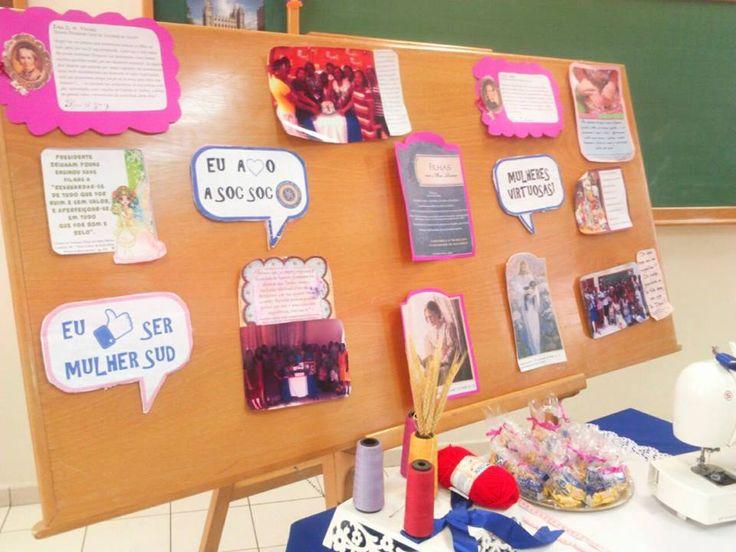 Meninas,  Na Ala Santo Amaro (Santo Amaro-BA) todo mês acontece uma atividade da Sociedade de Socorro onde algumas irmãs são escolhidas par...