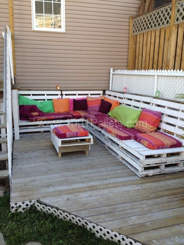 salon jardin palettes