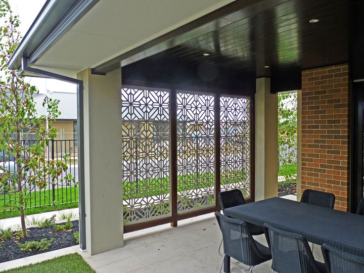 Washington screen design and beautiful on pinterest for Decorative patio privacy screens