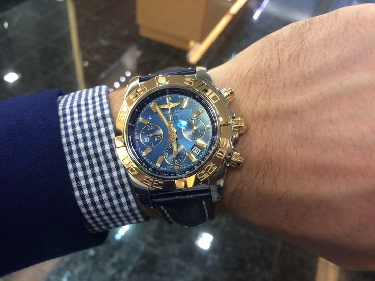 Breitling Chronomat 44 limited edition blue dial - 100 pieces