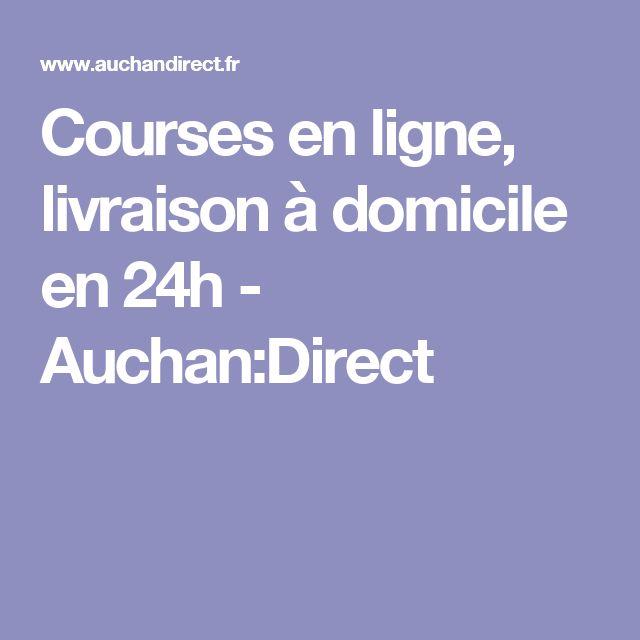 Courses en ligne, livraison à domicile en 24h - Auchan:Direct