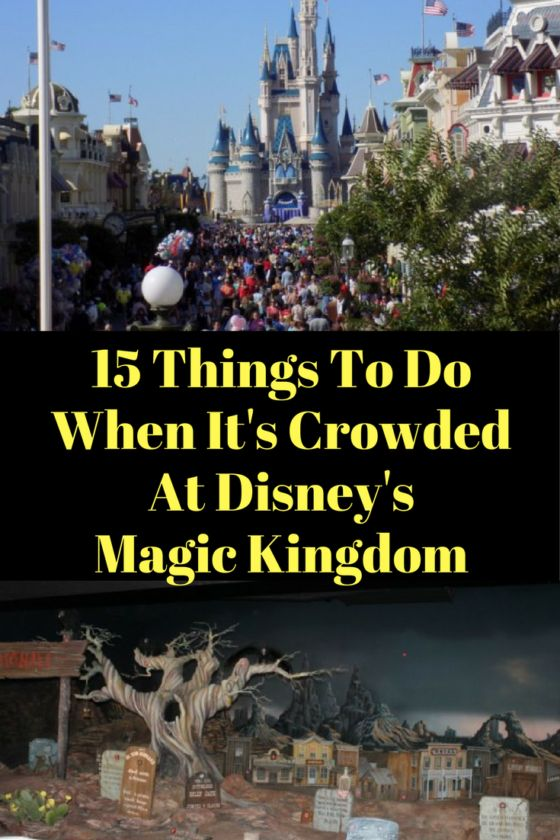 In an ideal world everyone would be able to visit Disney World at a low crowd level time. However, some just can not take the time off work or whichever the case may be and holidays, school vacations, etc. are the only times to go. Consider the best 15 things to do at Magic Kingdom when its crowded!