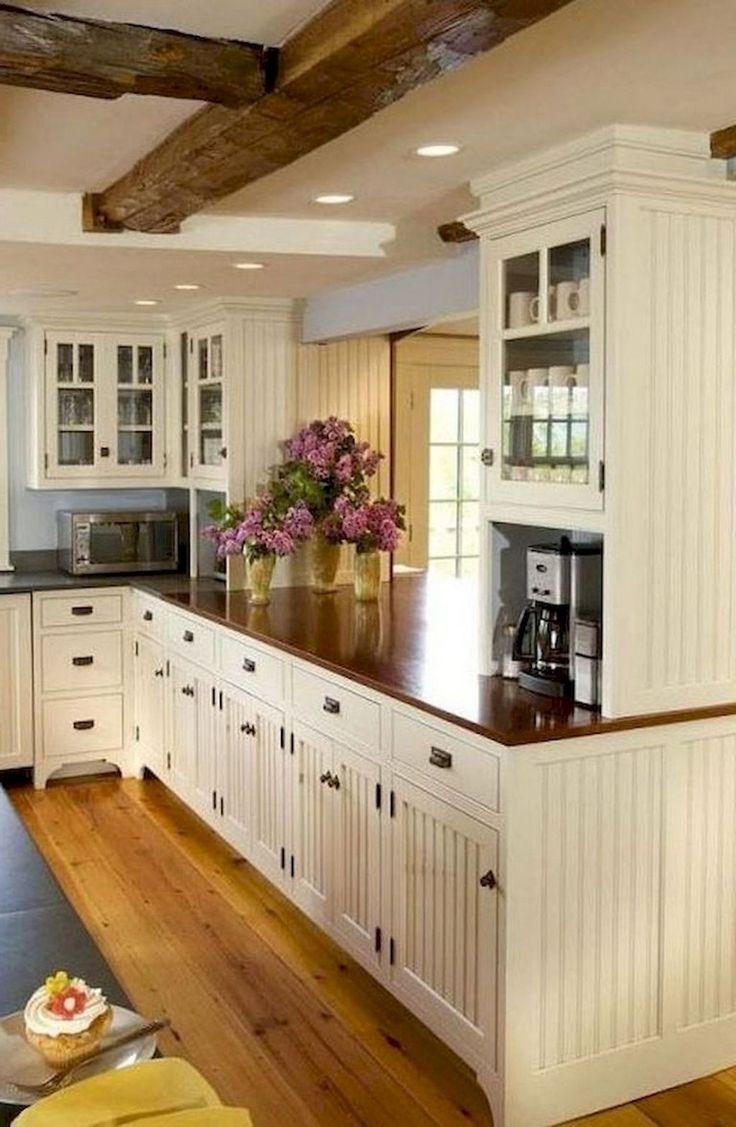 Best 65 Modern Farmhouse Kitchen Cabinet Makeover Ideas 400 x 300