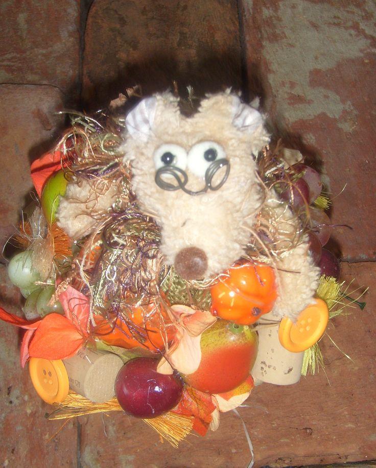 őszi asztaldísz, www.otletdekor.unas.hu oldalon