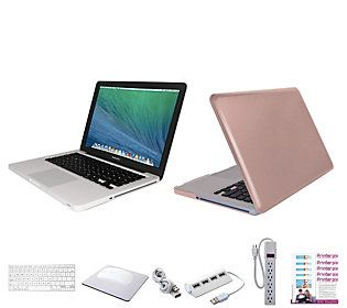 Apple MacBook Pro 13 Bundle with Clip Case, Wireless Mouse, & Software