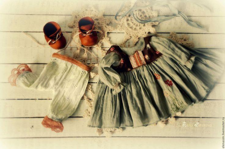 Купить Амелия - зеленый, текстильная кукла, интерьерная кукла, авторская кукла, выкройка, выкройка куклы