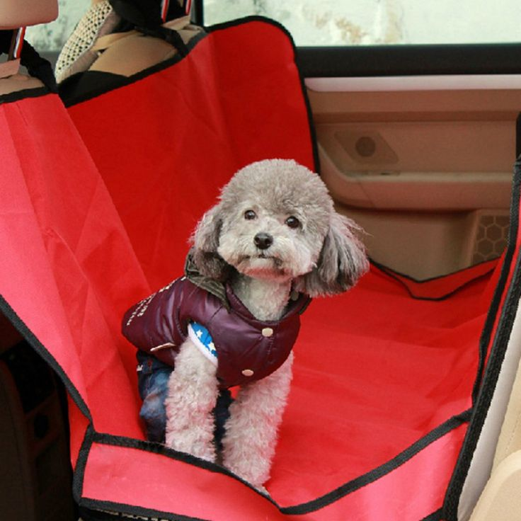 1PCS High Quality  Seat Cover Different Colors Supply Waterproof Car Seat Cover For Pets Dog Hot