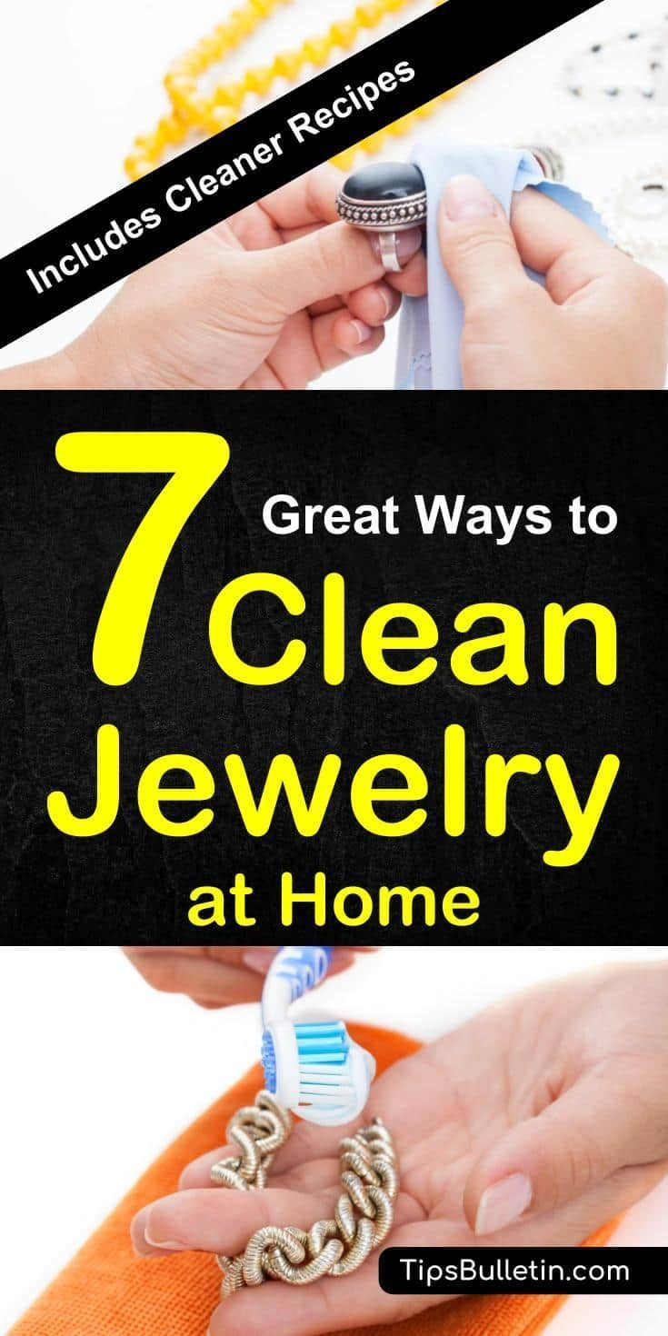 How To Clean Jewelry At Home Including Cleaner Recipes And