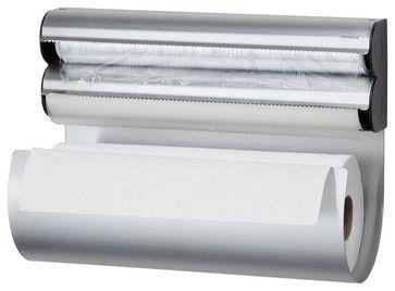 Inova Team -Modern Stainless Steel Kitchen Multi Storage Organizer modern-paper-towel-holders