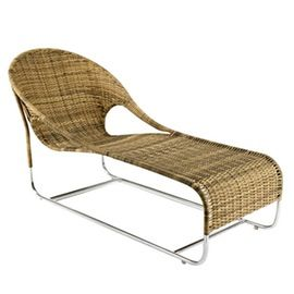 Cabo Chaise  MidCentury  Modern, Metal, Chaise Lounge by Foley  Cox