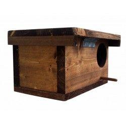 Nido artificiale per uccellini con tetto apribile COCO