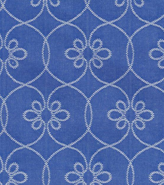 Beautiful $25 yd on sale at JoAnns. Home Decor Print Fabric- Williamsburg Turkish Screen Porcelain