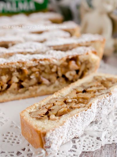 Alpejskie ciasto karmelowo-orzechowe