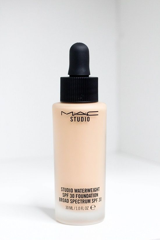 NEW MAC STUDIO WATERWEIGHT FOUNDATION - gel/serum hydrib formula for a beautiful skin-like finish!