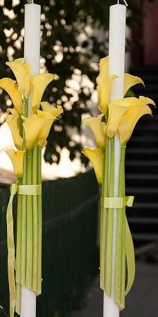 Beautiful - any long stemmed flower could be used!
