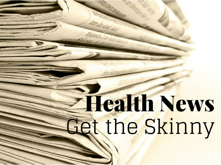 Learn the latest health discoveries and studies-Health News: The Latest Skinny (via TheHealthMinded.com) #news #health #science