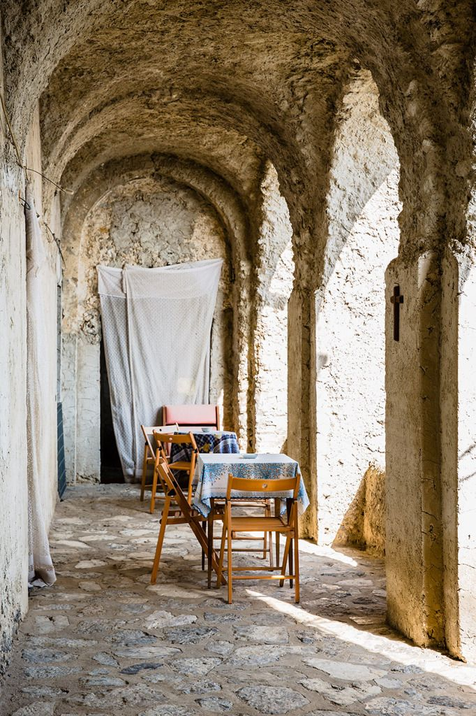 A rustic little stop off on the Walk of the Gods, Amalfi Coast, Italy