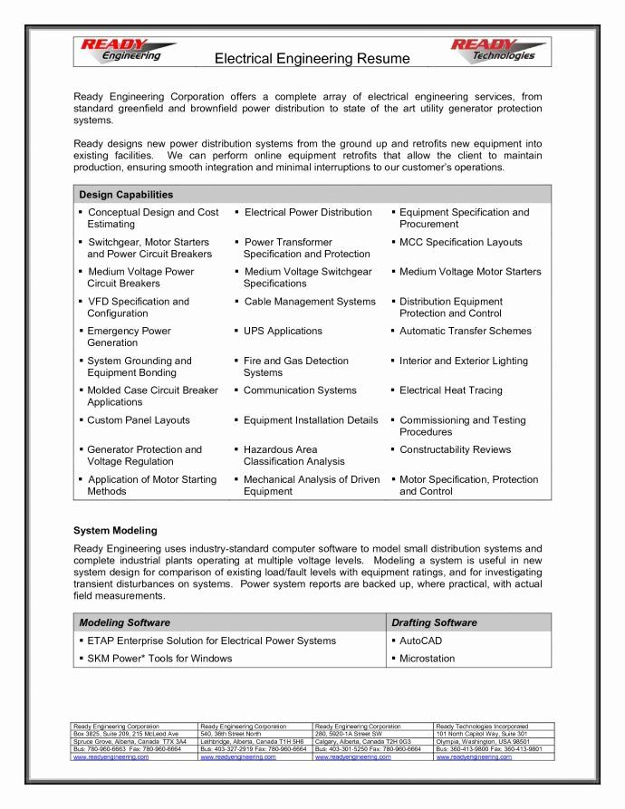 Entry Level Electrical Engineering Resume Awesome Electrical Engineer Resume Objective Engineering Resume Civil Engineer Resume Resume Objective