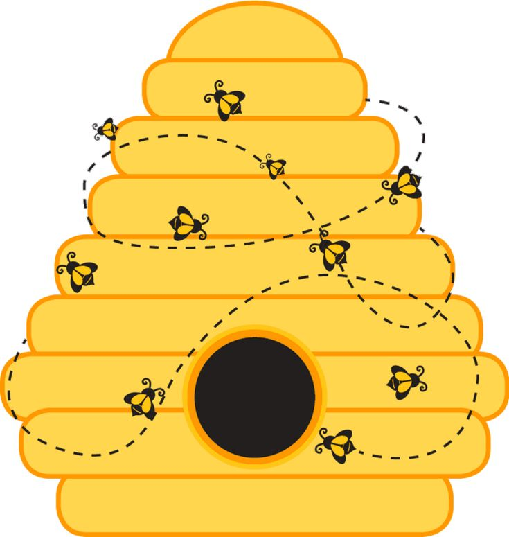 clipart beehive - photo #39