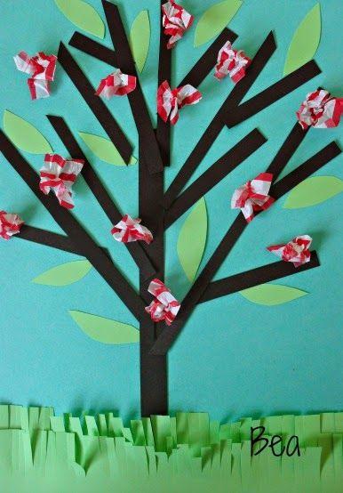 Wiosenne drzewo, Spring tree