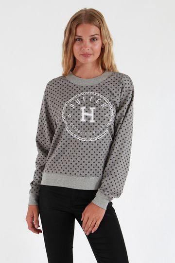 Huffer Embroidered Neo Crew - Sweatshirts and Crews | North Beach