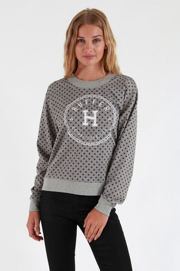 Huffer Embroidered Neo Crew - Sweatshirts and Crews | North Beach