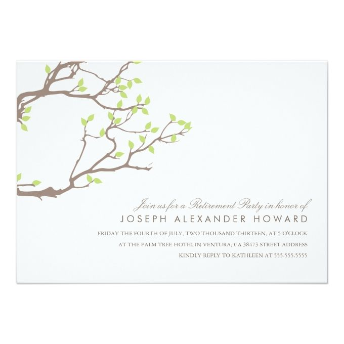 40 best Retirement Party Invites images on Pinterest Invites - fresh invitation card to chief guest