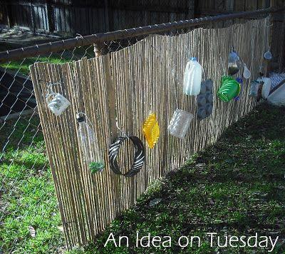 An idea on Tuesday: Outdoor Music Wall