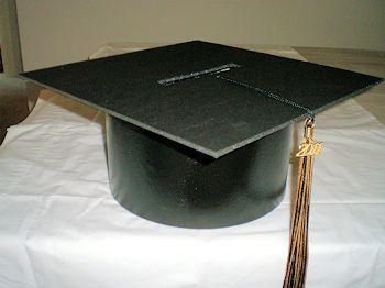 Graduation card boxGraduation Cap, Grad Parties, Graduation Ideas, Parties Ideas, Cards Boxes, Graduation Cards, Diy Cards, Graduation Parties, Card Boxes