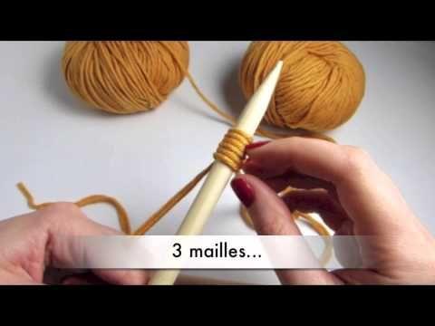 # Tricot # Tricoter avec 2 fils à la fois by WoolKiss