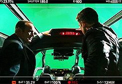 I love this blooper sooooo much XD My love for Clark Gregg and Chris Evans just increases bc f this