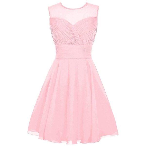 Original Pink Summer Women Thin Slim Double Breasted Dress