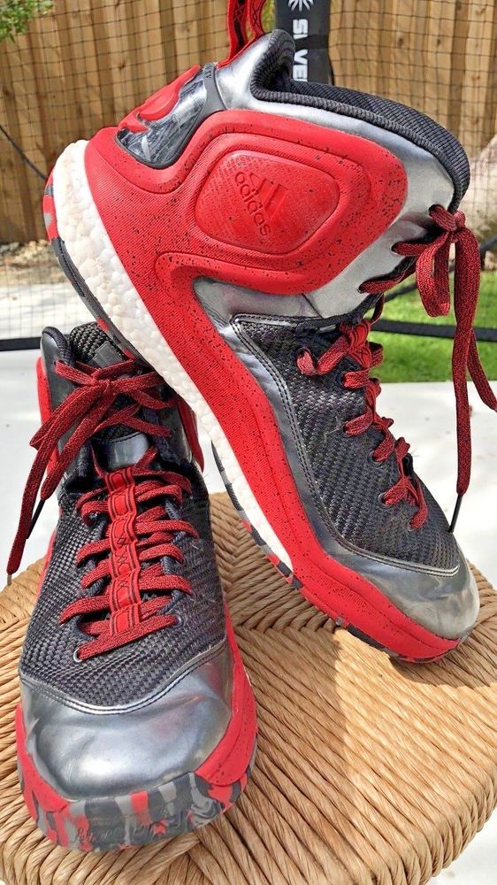 c06e06732fd Adidas Shoes D Rose 5 Boost Hightop Red Basketball Shoes Men Size 12 ...