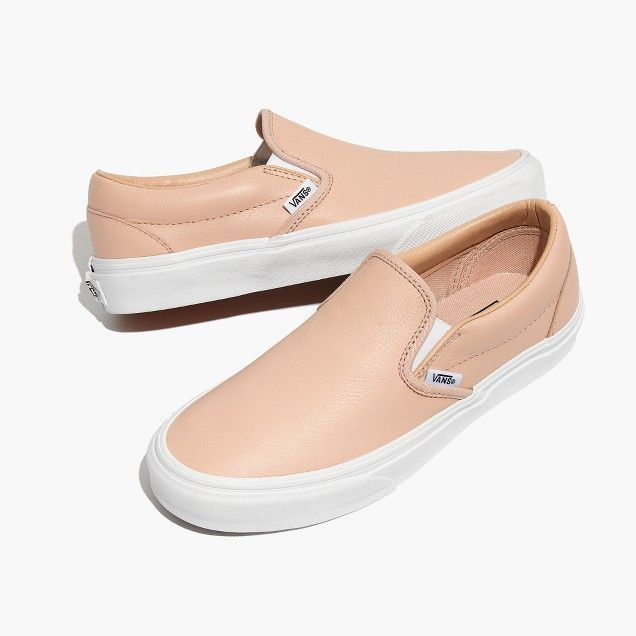 aa4f1022a8a46f Vans® Unisex Classic Slip-On Sneakers in Frappe Leather