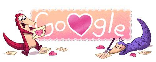 ❤️  Ziua Îndrăgostiților! #GoogleDoodle