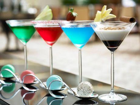 The Ritz Carlton Millenia Singapore's Formula 1 Cocktail