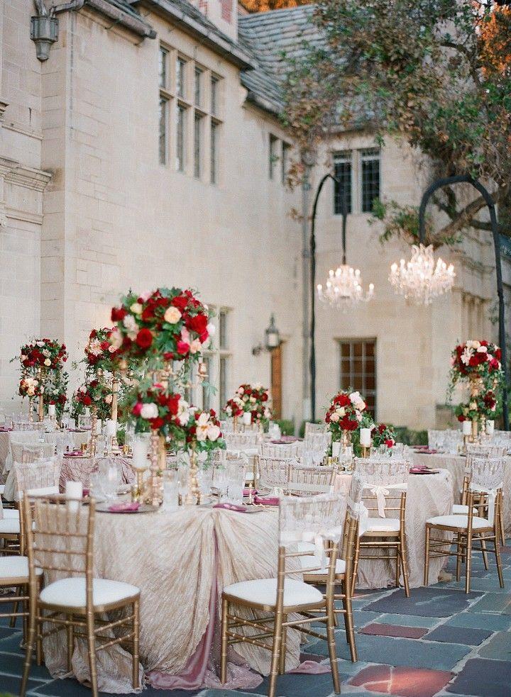 Glamorous California Wedding at Greystone Mansion - MODwedding